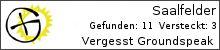 Opencaching.de-Statistik von Saalfelder