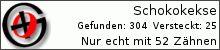 Opencaching.de-Statistik von schokokekse
