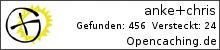 Opencaching.de-Statistik von anke+chris