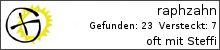 Opencaching.de-Statistik von raphzahn