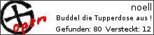 Opencaching.de-Statistik von noell