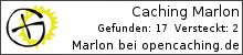Opencaching.de-Statistik von Caching Marlon