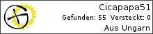 Opencaching.de-Statistik von Cicapapa51