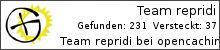 Opencaching.de-Statistik von repridi