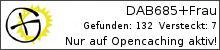 Opencaching.de-Statistik von DAB685+Frau