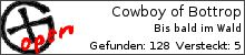 Opencaching.de-Statistik von Cowboy of Bottrop