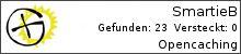 Opencaching.de-Statistik von SmartieB