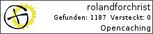 Opencaching.de-Statistik von rolandforchrist