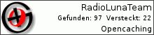 Opencaching.de-Statistik von RadioLunaTeam