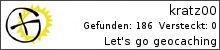 Opencaching.de-Statistik von kratz00