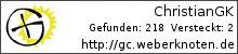 Opencaching.de-Statistik von ChristianGK