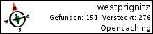 Opencaching.de-Statistik von westprignitz