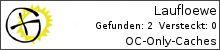 Opencaching.de-Statistik von Laufloewe