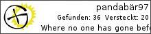 Opencaching.de-Statistik von pandabär97