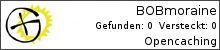 Opencaching.de-Statistik von BOBmoraine