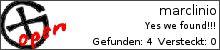 Opencaching.de-Statistik von marclinio