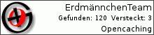 Opencaching.de-Statistik von ErdmännchenTeam