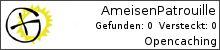 Opencaching.de-Statistik von AmeisenPatrouille