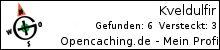 Opencaching.de-Statistik von Kveldulfir