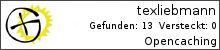 Opencaching.de-Statistik von texliebmann