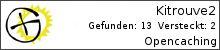 Opencaching.de-Statistik von Kitrouve2