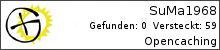 Opencaching.de-Statistik von SuMa1968