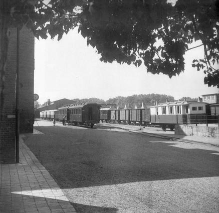 Bahnhof 1953