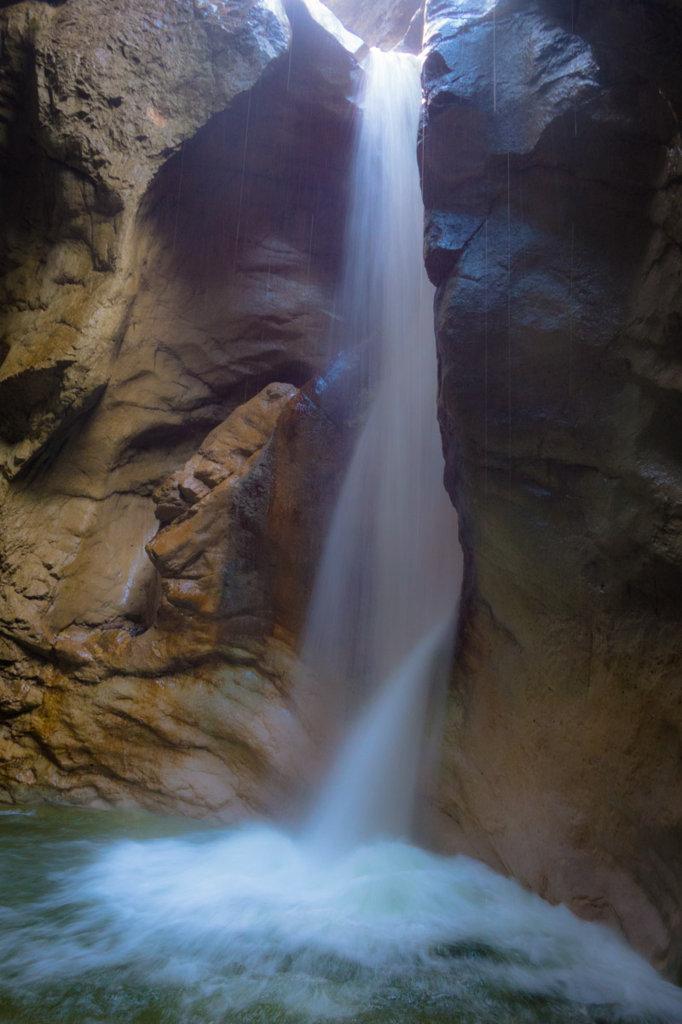 Burggrabenklamm Wasserfall