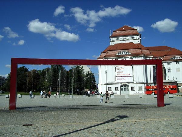 Waterscreen am Postplatz, Dresden