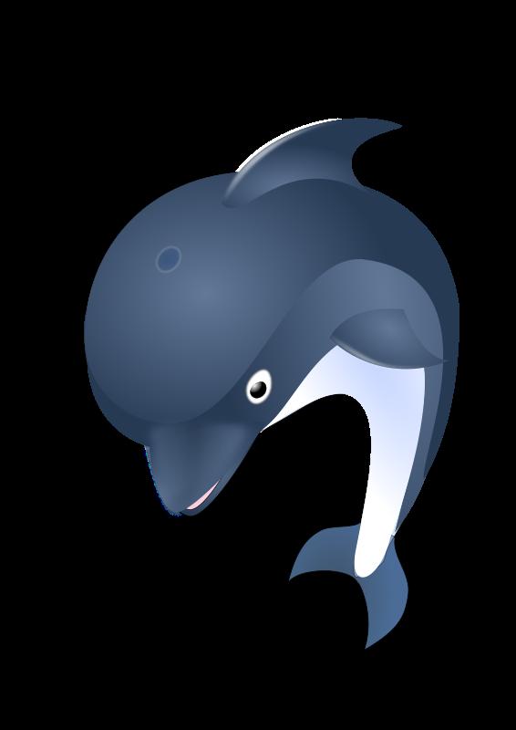 Delfin-Clipart