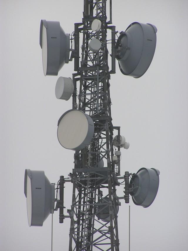 Richtfunk-Antennen