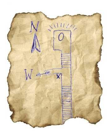 Das Kartenfragment.