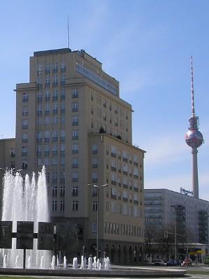 Strausberger Platz Richtung Südwest