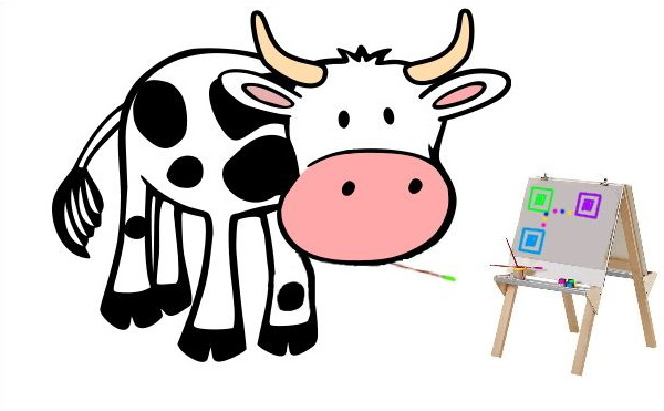 Kuh Erna malt