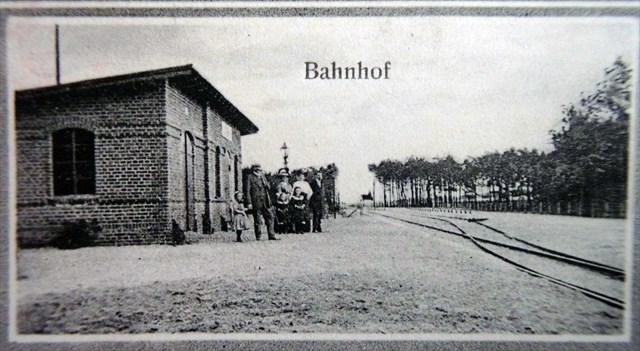 Bahnhof um 1912