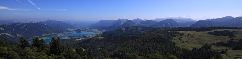 Panorama of the calcareous alps