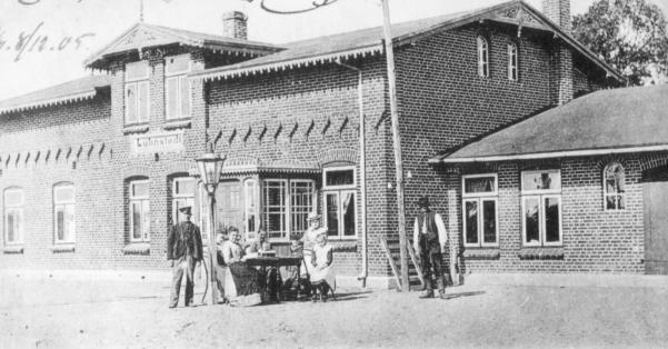Bahnhof 1903