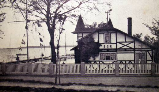 Die heutige Hafenschänke 1931