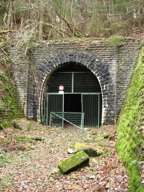 Das Westportal des Finkenberg Tunnels
