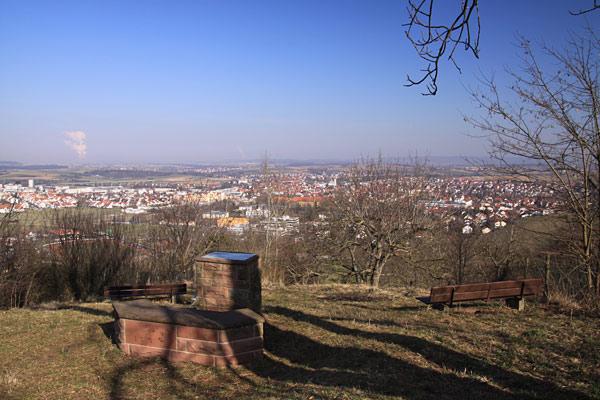 Kleiner Roßberg Aussicht