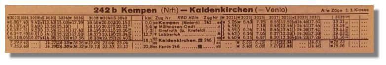 Bahnhof Kempen