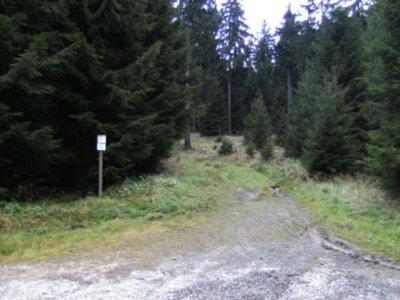 Weg zur Hanskühnenburg