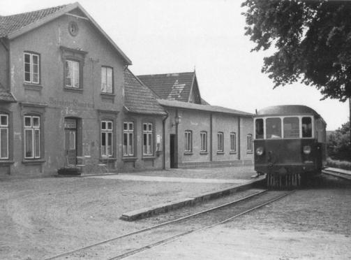 Bahnhof damals