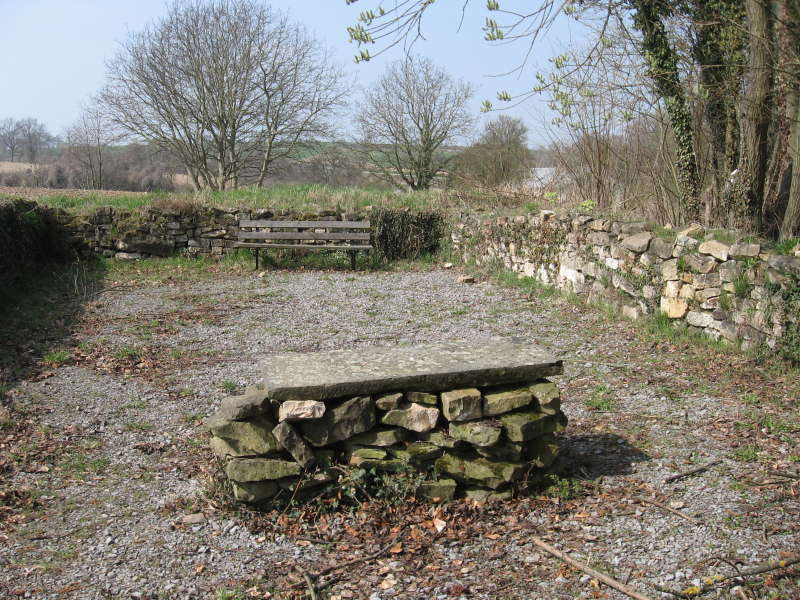 Überreste alte Kapelle