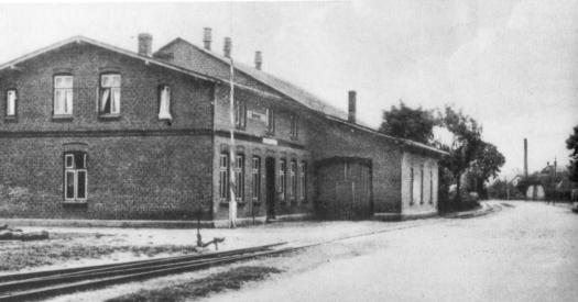 Bahnhof 1910