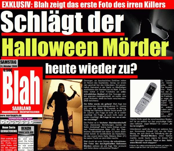 Kehrt der Halloween Mörder heute wieder zurück?