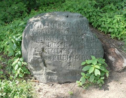 Der (Gedenk)Stein des Weisen