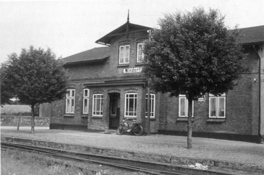 Bahnhof 1956