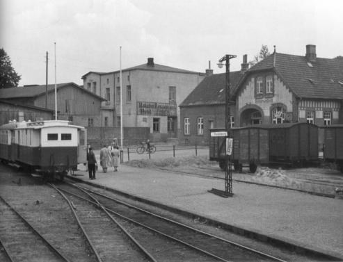 Bahnhof 1955