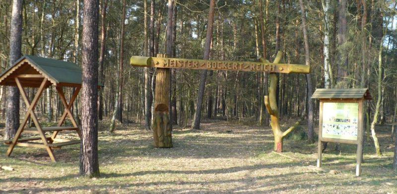 Eingang zum Meister-Bockert-Reich